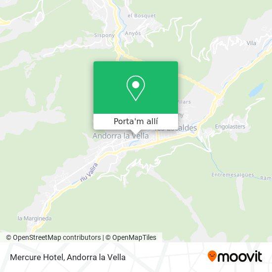 mapa Mercure Hotel