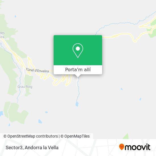 mapa Sector3