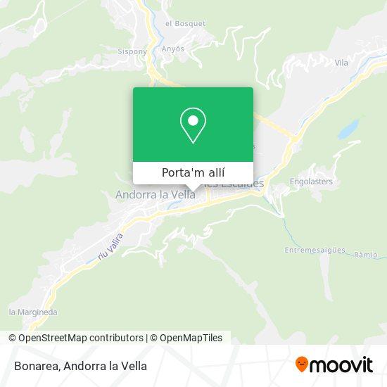 mapa Bonarea