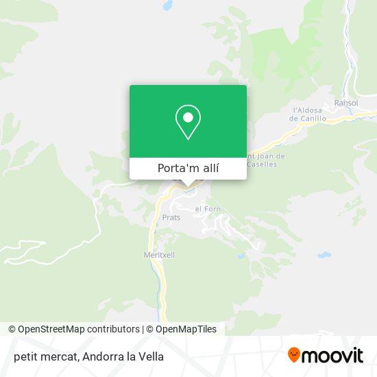 mapa petit mercat