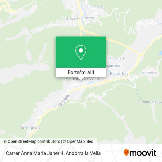 mapa Carrer Anna Maria Janer 4