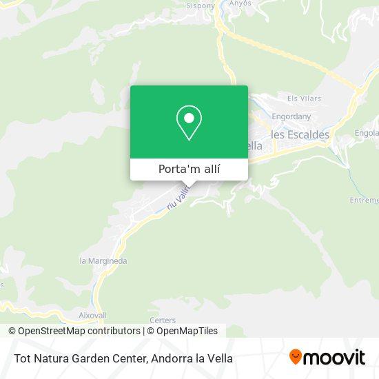 mapa Tot Natura Garden Center