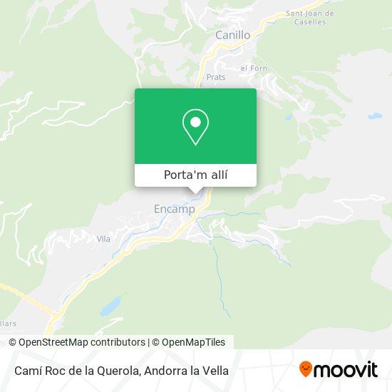 mapa Camí Roc de la Querola
