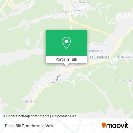 mapa Pizza BlitZ