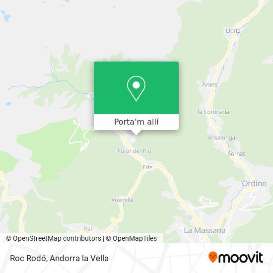 mapa Roc Rodó