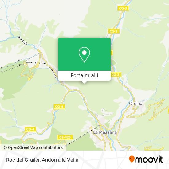 mapa Roc del Grailer