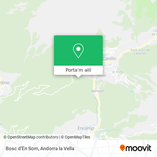 mapa Bosc d'En Som