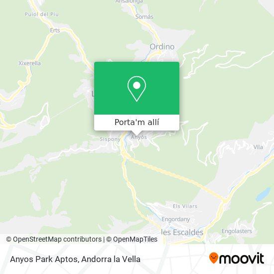 mapa Anyos Park Aptos