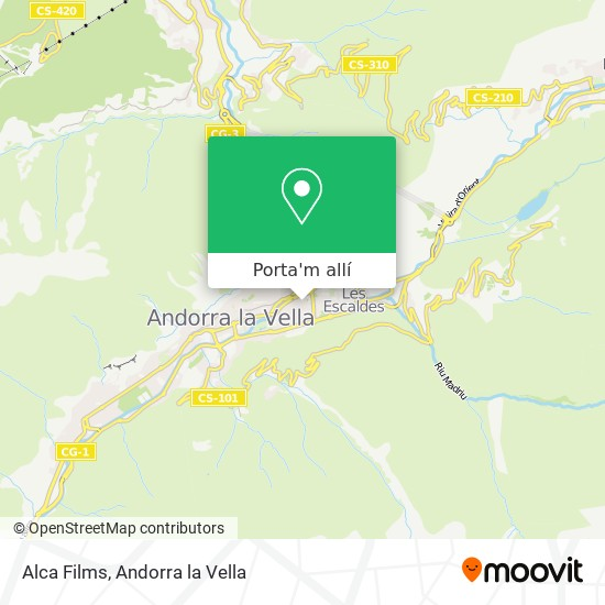 mapa Alca Films