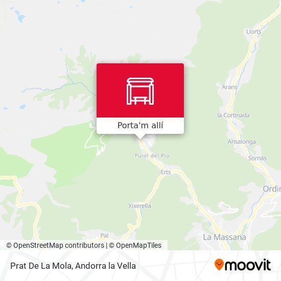 mapa Prat De La Mola