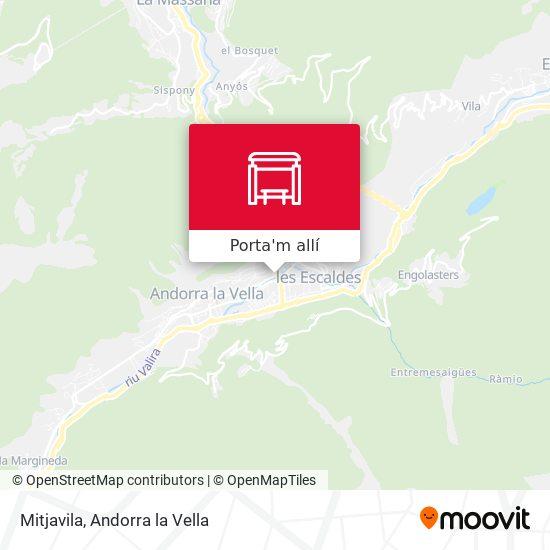 mapa Mitjavila
