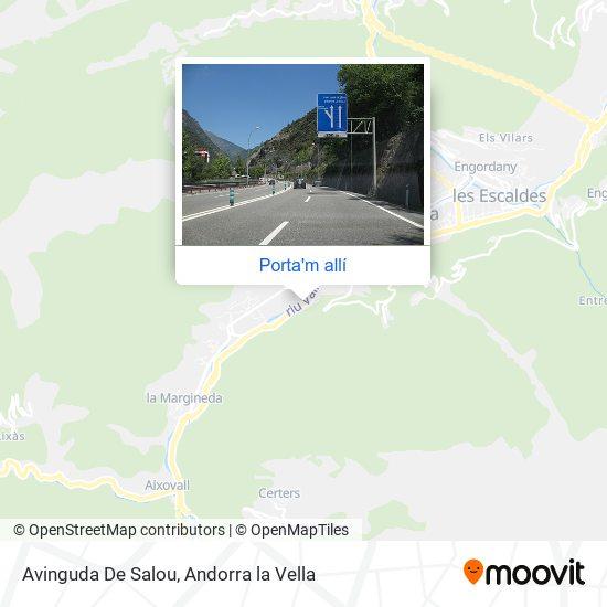 mapa Avinguda De Salou
