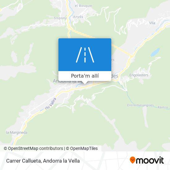 mapa Carrer Callueta