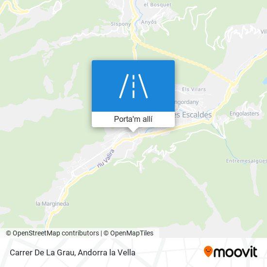mapa Carrer De La Grau