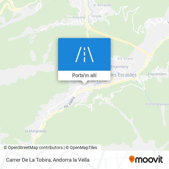 mapa Carrer De La Tobira