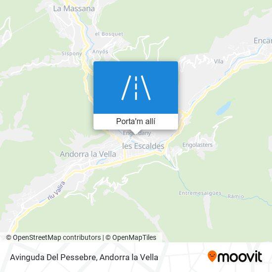 mapa Avinguda Del Pessebre