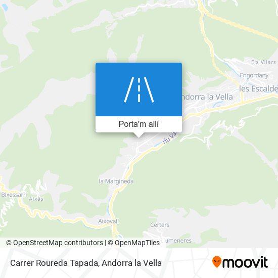 mapa Carrer Roureda Tapada