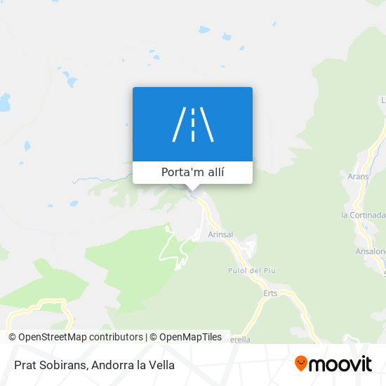 mapa Prat Sobirans
