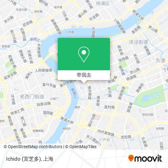 Ichido (宜芝多)地图