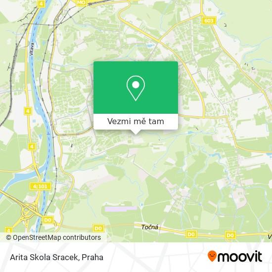 Arita Skola Sracek mapa