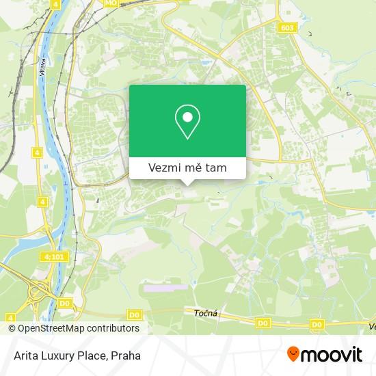 Arita Luxury Place mapa