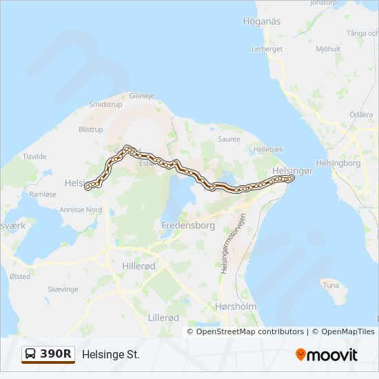 390r Route Time Schedules Stops Maps Tikob Skole