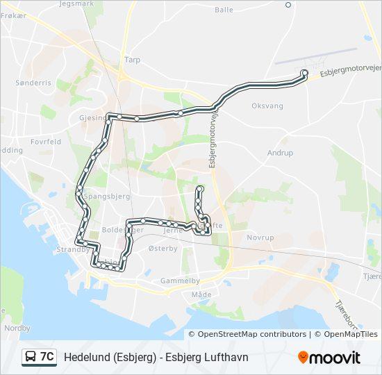 esbjerg bybusser køreplan