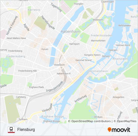 Linie Ic Fahrplane Haltestellen Karten Flensburg