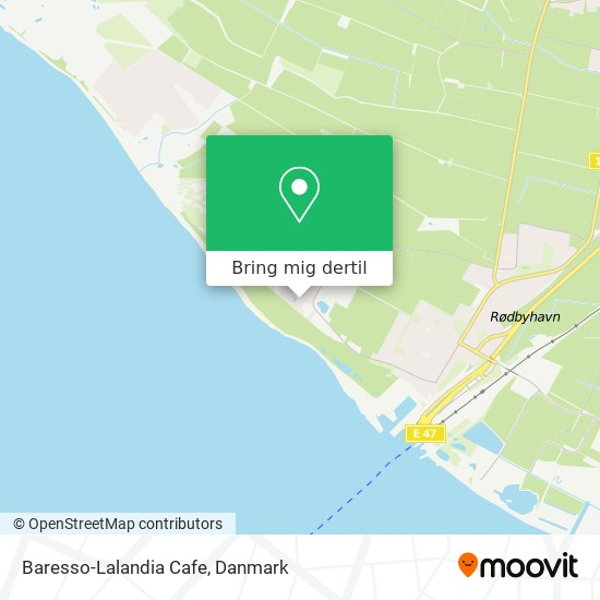 Baresso-Lalandia Cafe kort