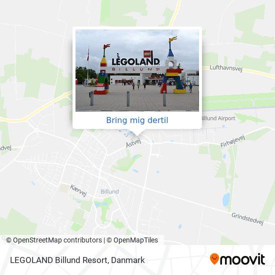 LEGOLAND Billund Resort kort