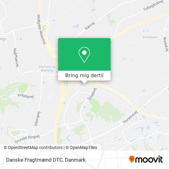 Danske Fragtmænd DTC kort