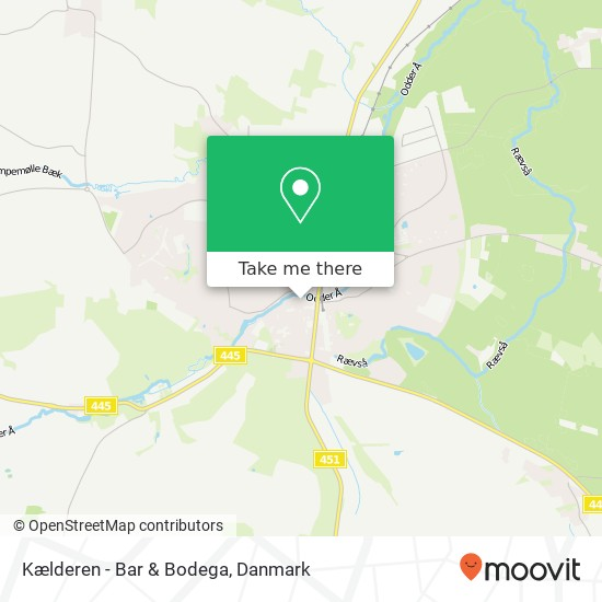 Kælderen - Bar & Bodega kort