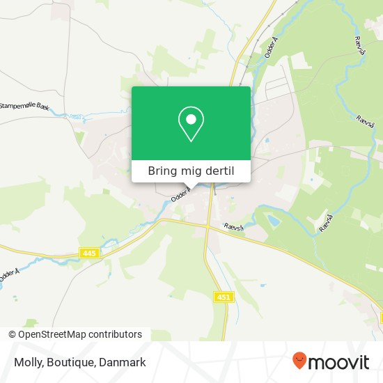 Molly, Boutique kort