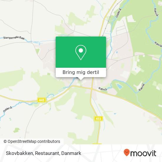 Skovbakken, Restaurant kort