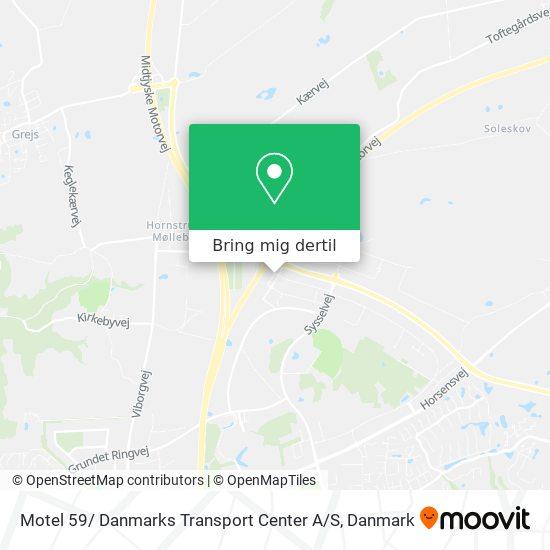 Motel 59/ Danmarks Transport Center A / S kort