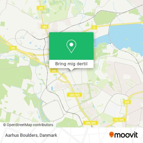 Aarhus Boulders kort