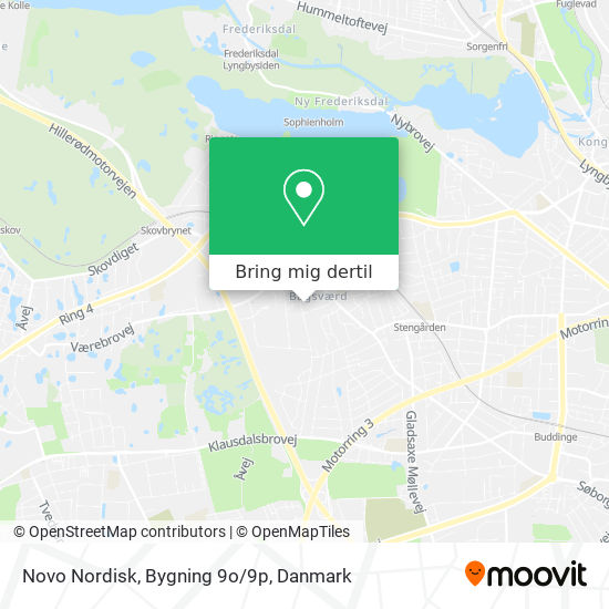 Novo Nordisk, Bygning 9o/9p kort