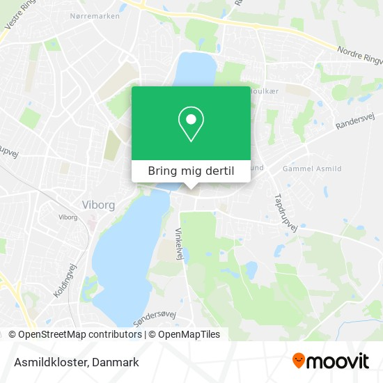 Asmildkloster kort