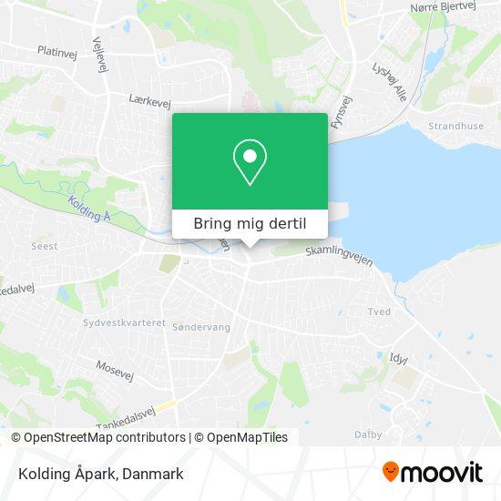 Kolding Åpark kort
