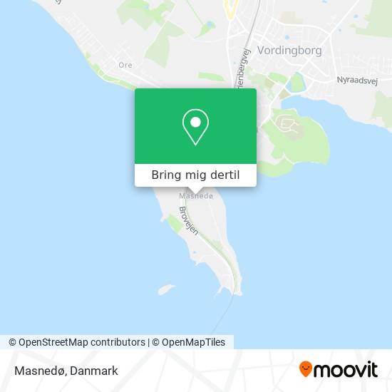 Masnedø kort