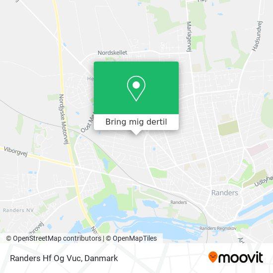 Randers Hf Og Vuc kort