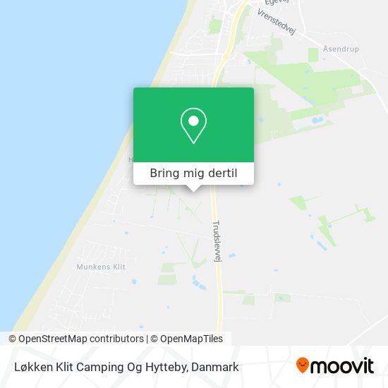 Løkken Klit Camping Og Hytteby kort