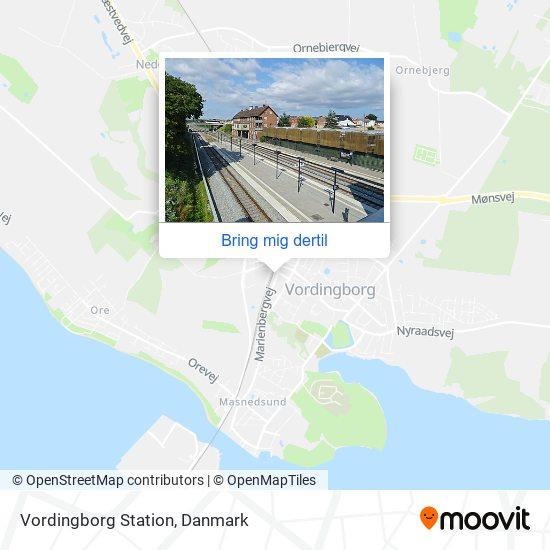 Vordingborg Station kort