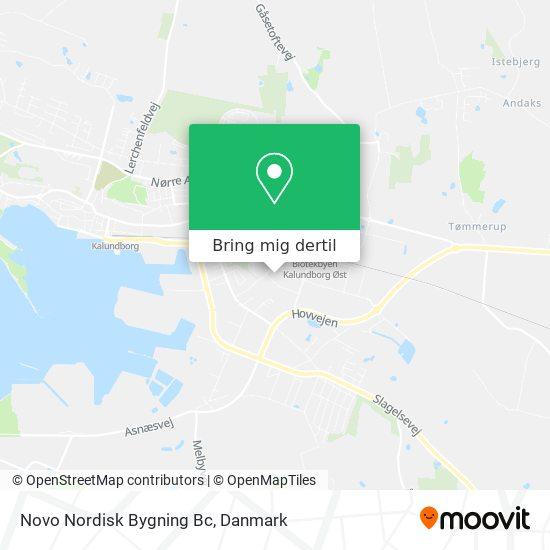 Novo Nordisk Bygning Bc kort