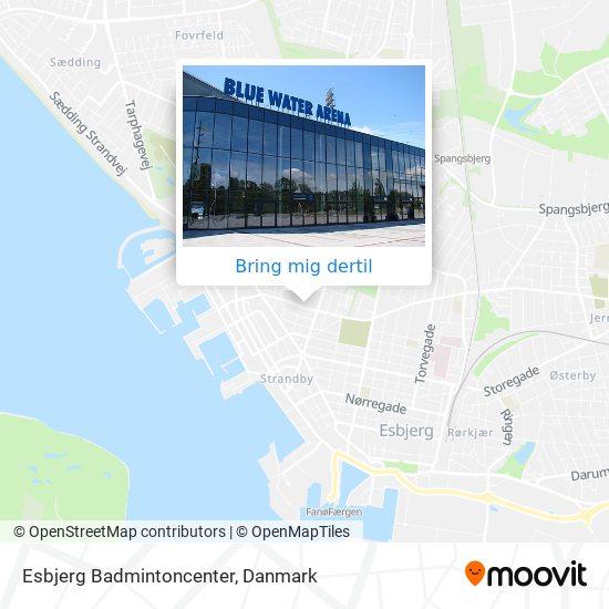 Esbjerg Badmintoncenter kort