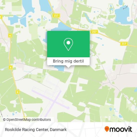 Roskilde Racing Center kort