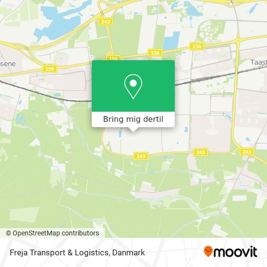 Freja Transport & Logistics kort
