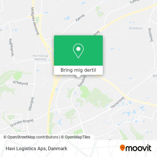 Havi Logistics Aps kort