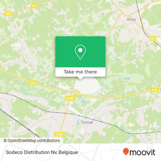 Sodeco Distribution Nv kaart