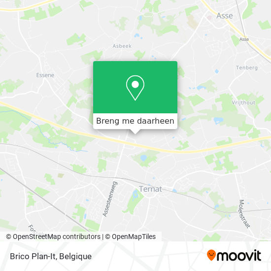 Brico Plan-It kaart